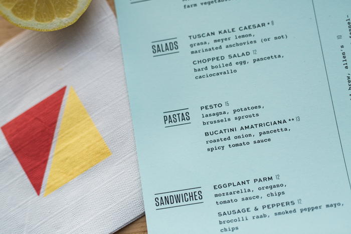 Roustabout Menu by Might & Main