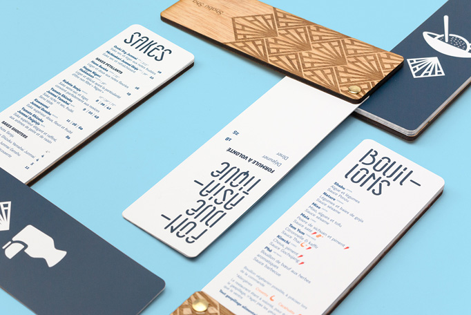 Shabu Sha Menu by FØLSOM Creative Studio
