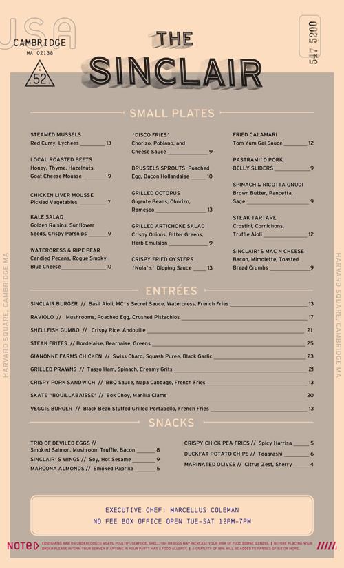 art of the menu best of 2013