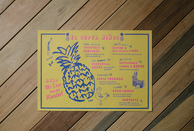Super Loco Menu by Foreign Policy Design