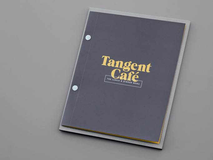 Tangent Cafe Breakfast Menu