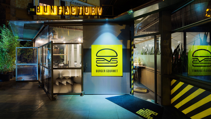 The Bun Factory Menu by Luther Dsgn