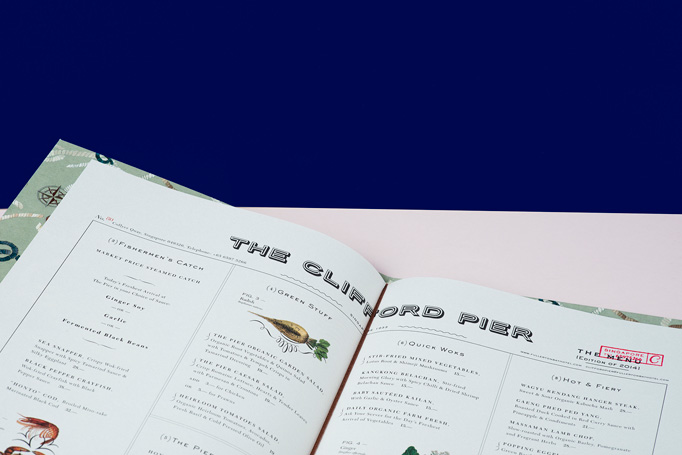 The Clifford Pier Menu by Foreign Policy