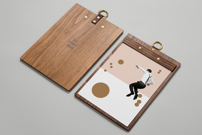 The Penny Drop Menu by Pop & Pac
