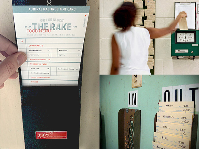 The Rake Menu by Gamut