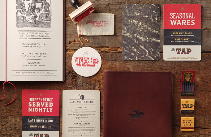 The Tap Trailhouse Menu by Stebbings Partners