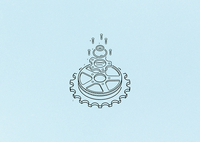 Till & Sprocket Menu by Will Gardner