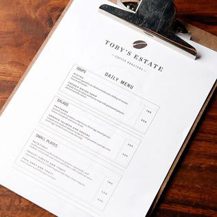 art of the menu. Black Bedroom Furniture Sets. Home Design Ideas