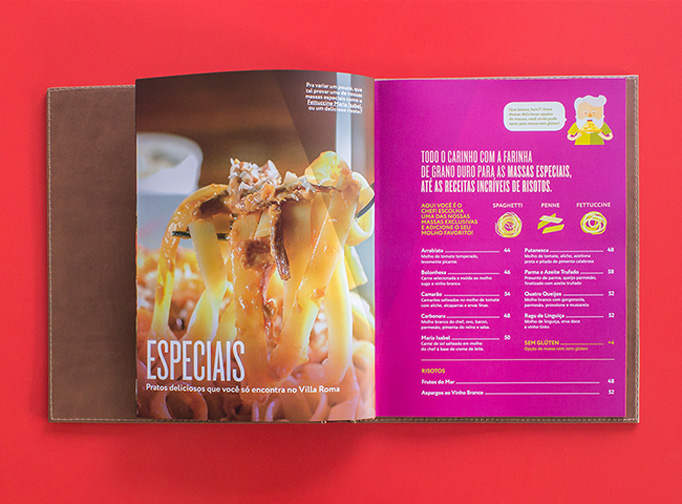 Villa Roma Menu by Chablau