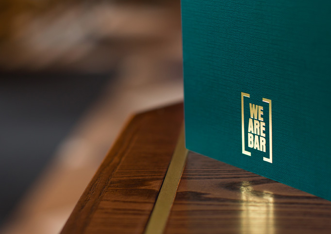 We Are Bar Menu by Ragged Edge