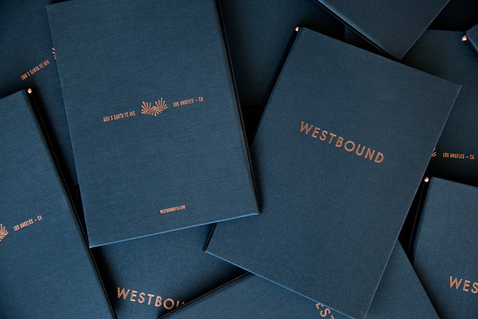 Westbound Menu by Project M Plus