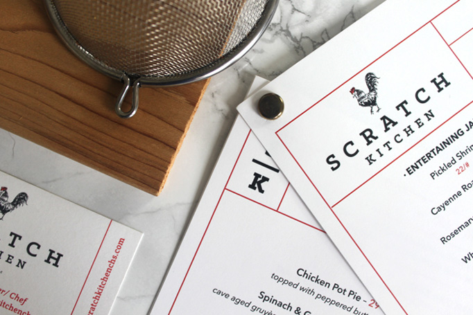 The Wickliffe House & Scratch Kitchen Menus by Fork & Knife