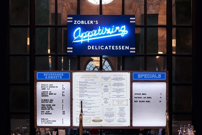Zobler's Delicatessen Menu by Club