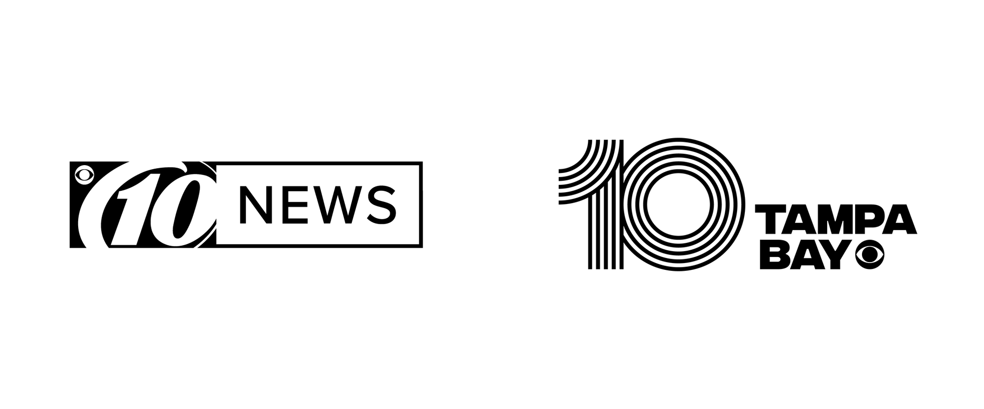 New Logo and Identity for 10 Tampa Bay by Matchstic