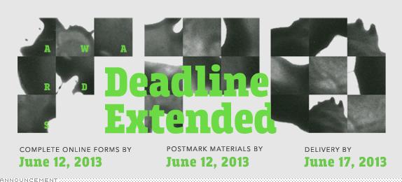 2012-13 FPO Awards: Deadline Extended