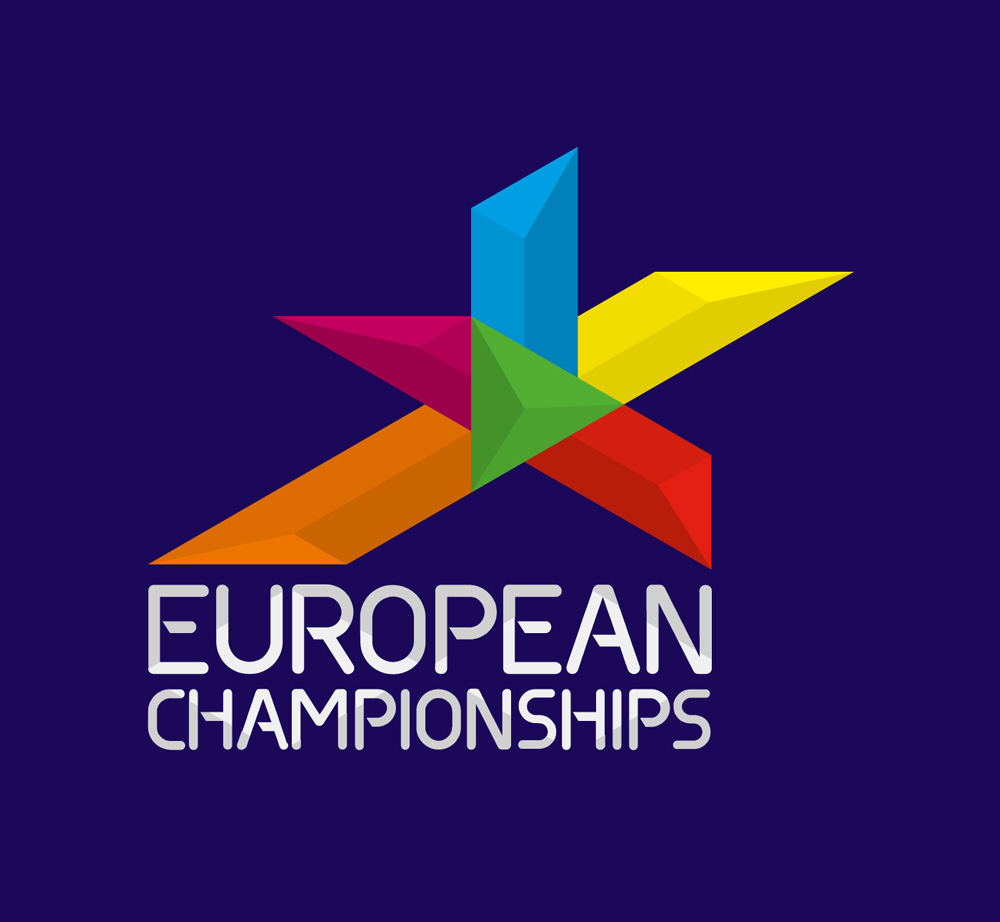 New Logo and Identity for European Championships by Designwerk
