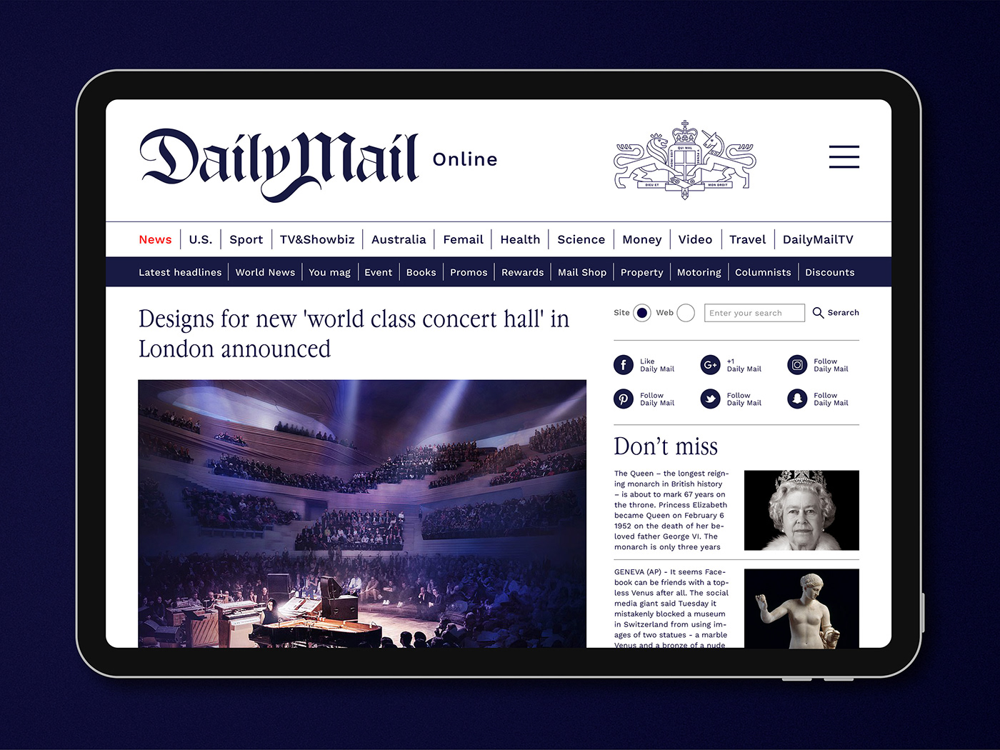 Daily Mail Reimagined
