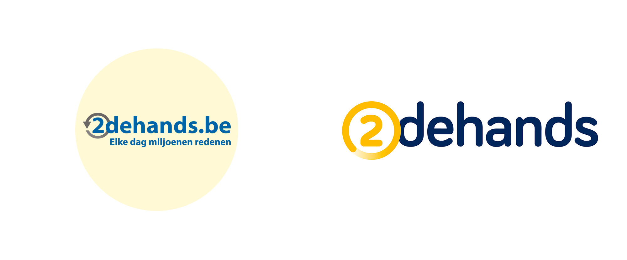 New Logo for 2dehands by Happiness Brussels