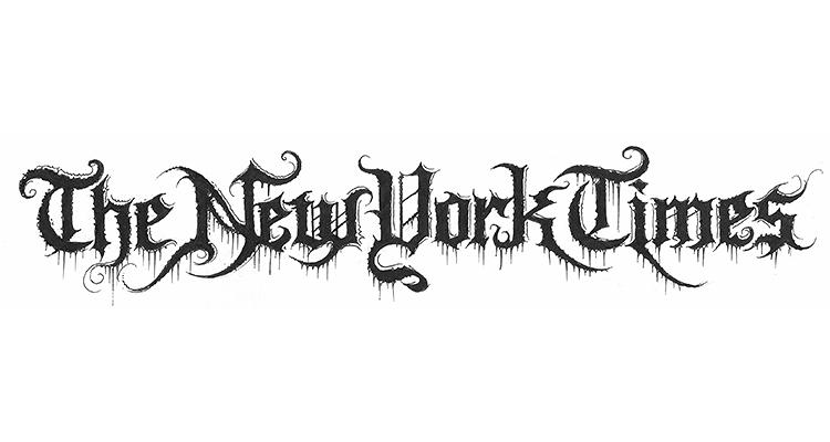 brand new death metal versions of famous logos rh underconsideration com metal logo generator online extreme metal logo generator