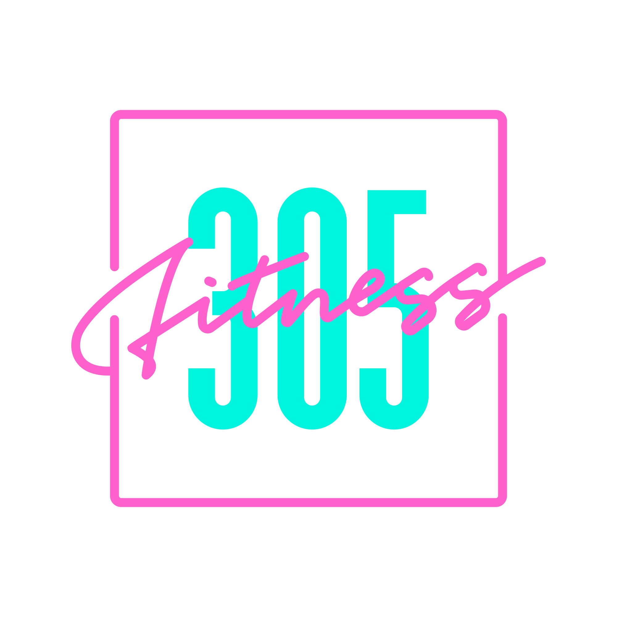 New Logo and Identity for 305 Fitness by ēthos