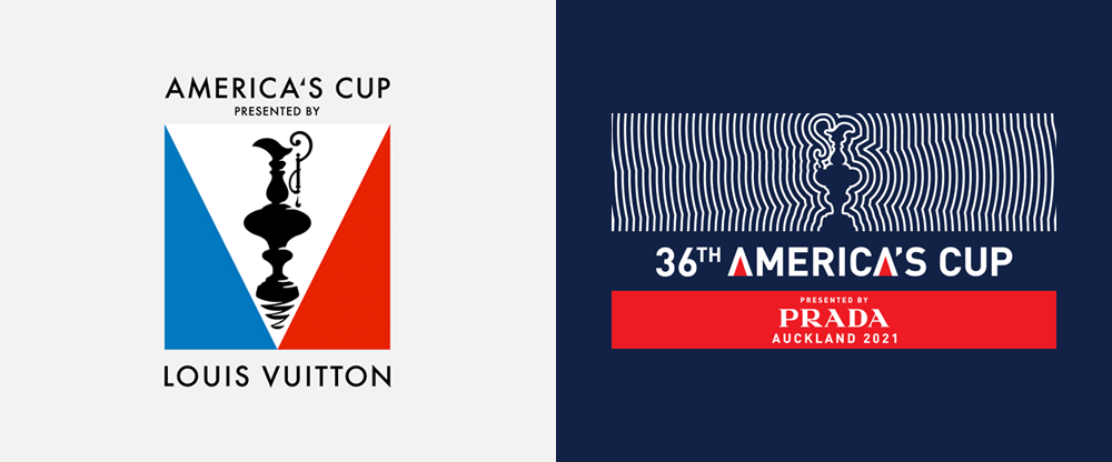 New Logo for 36th America's Cup by Marc Newson