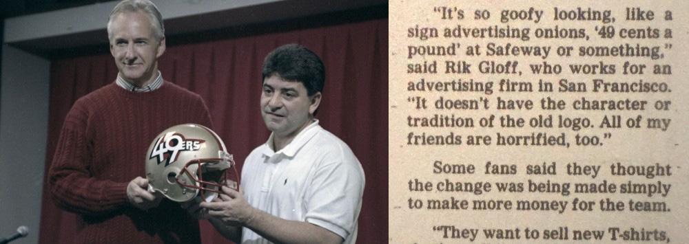 49ers' 1991 Logogate