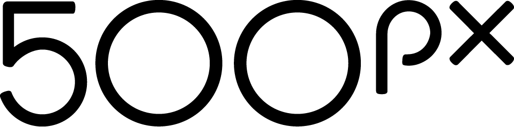 New Logo for 500px by Focus Lab