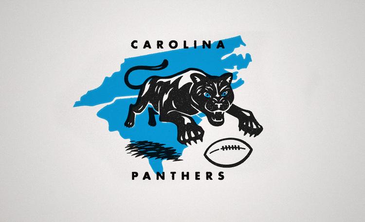 Brand New Carolina Panthers Vintage Edition