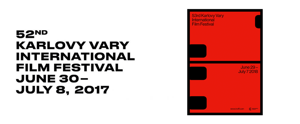 New Logo and Identity for 53rd Karlovy Vary International Film Festival by Studio Najbrt