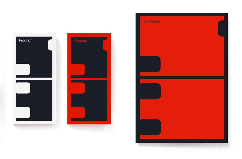 New Logo and Identity for 53rd Karlovy Vary International Film Festival by Studio Najbrt