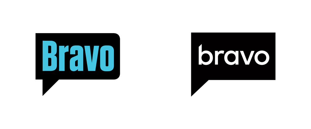 New Logo for Bravo by Sibling Rivalry Studio