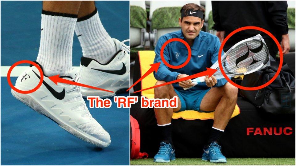 Roger Federer Jumps Ship, Logo Stays Behind