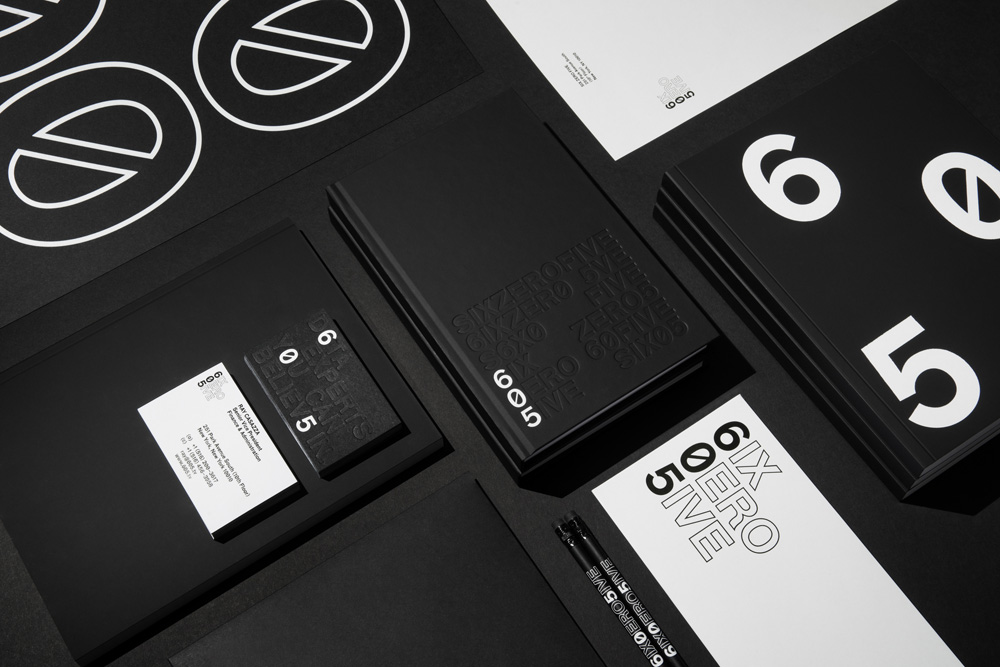 New Logo and Identity for 605 by COLLINS