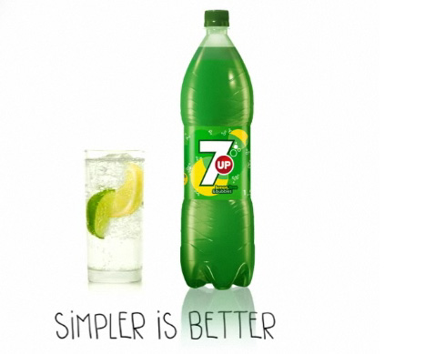 七喜在欧洲市场率先推出了新Logo