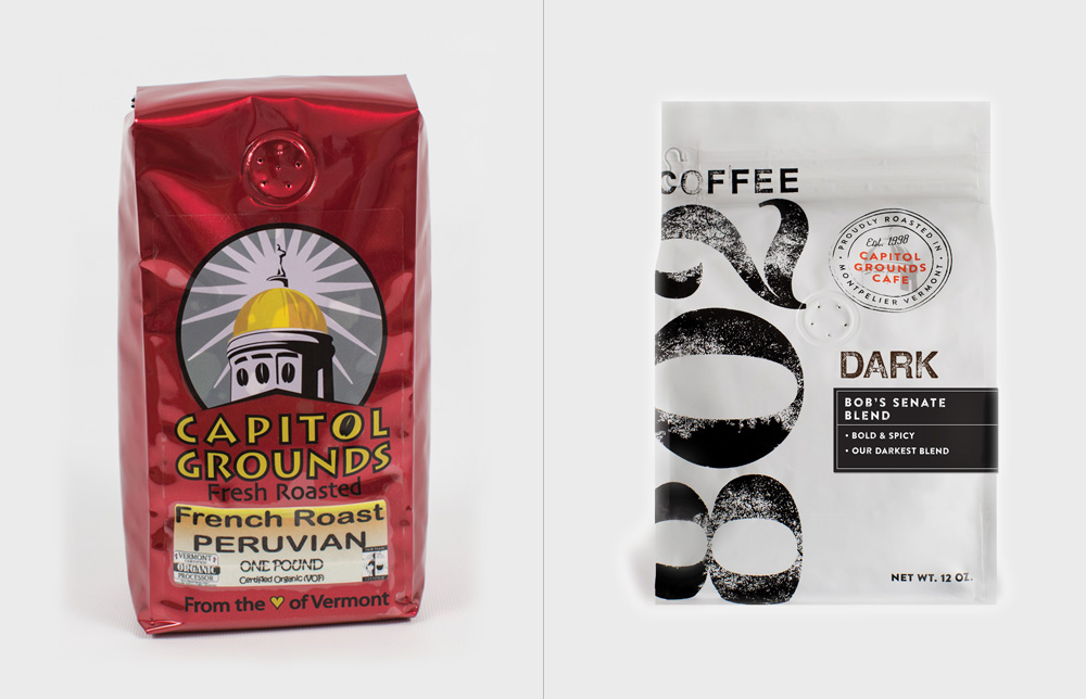 New Logo and Packaging for 802 Coffee by Jar Design