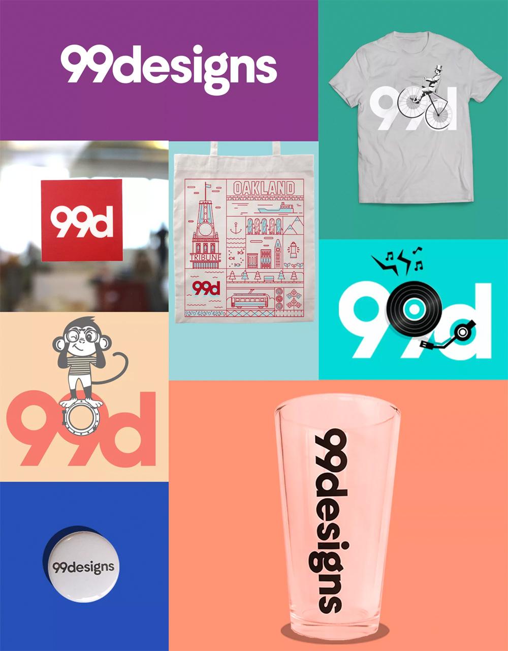 New Logo for 99designs by Meisal Subkhan