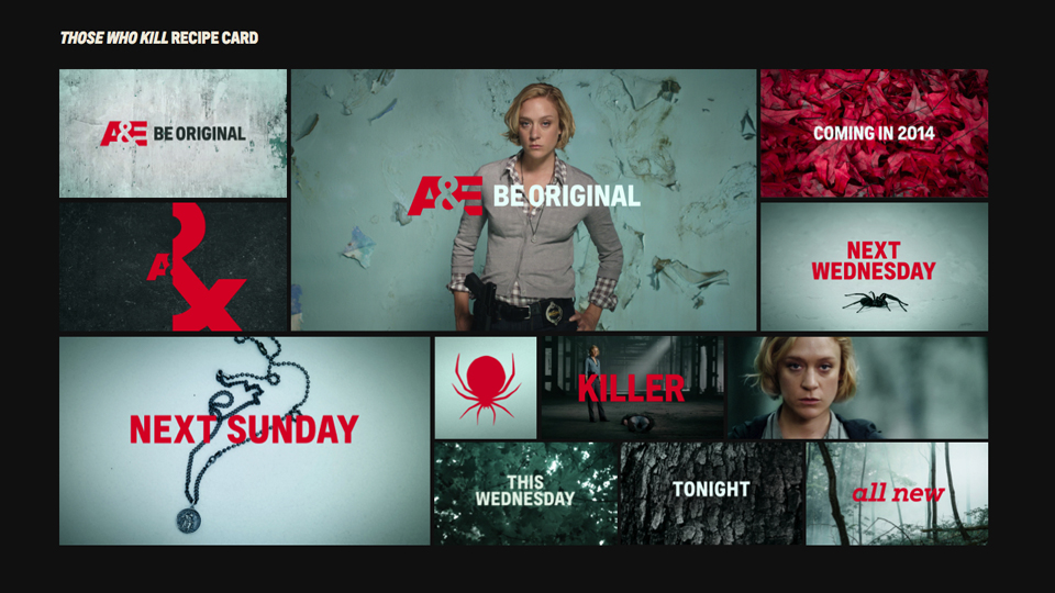 New On-Air Look for A&E by Troika