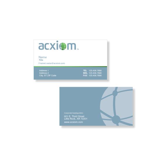 Acxiom Business Cards
