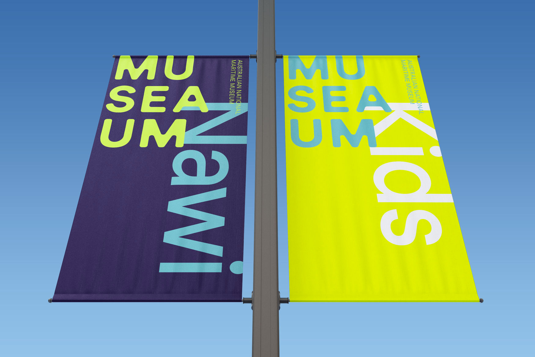 New Logo and Identity for Australian National Maritime Museum by Frost*
