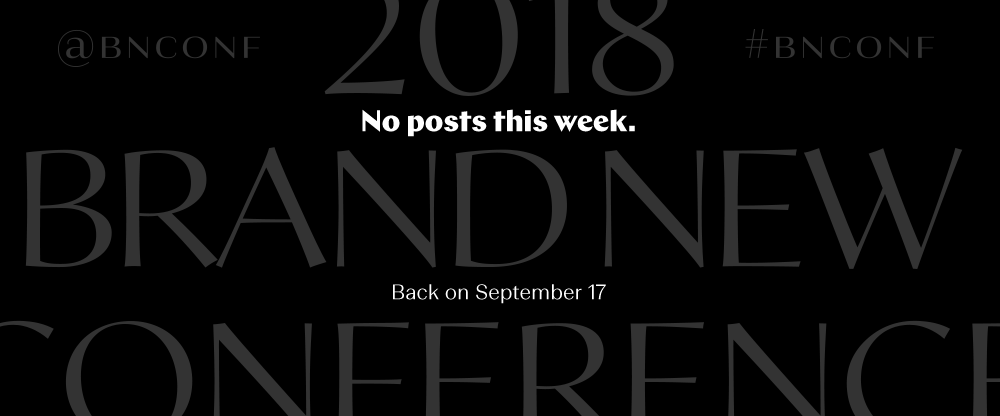 No Posts until Sep. 17