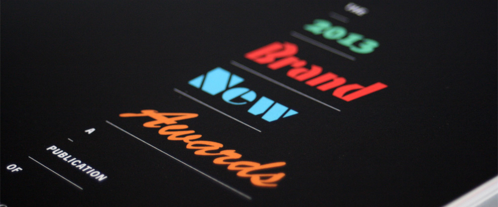 2013 Brand New Awards: Now Available