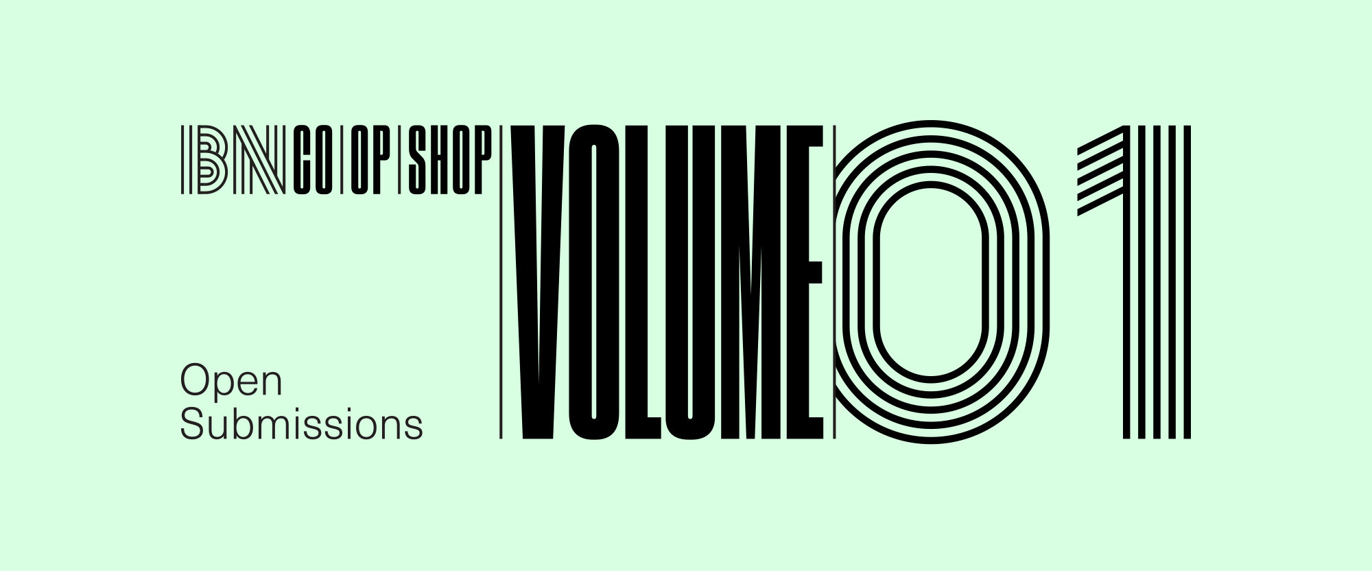 Co-Op Shop: Open Submissions, Volume 1