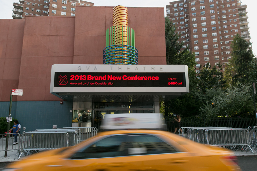 New Logo and Identity for 2013 Brand New Conference by UnderConsideration