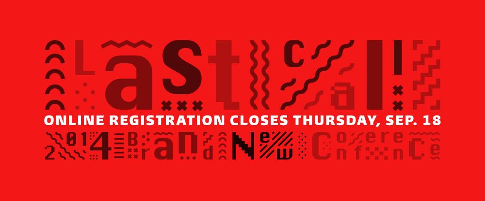 Online Registration Closes Thursday