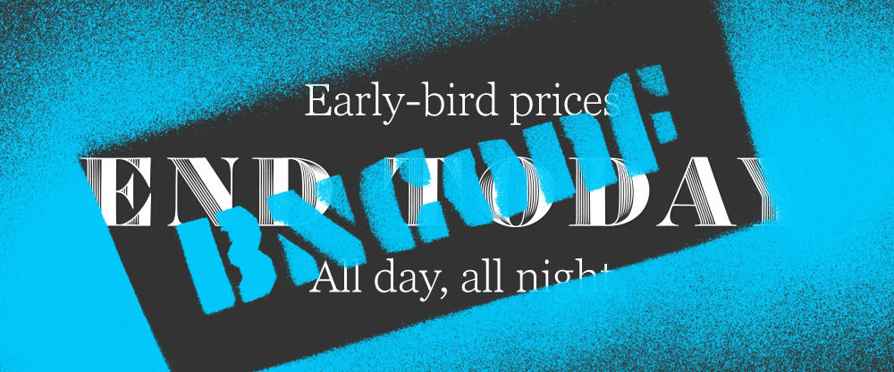 2015 Brand New Conference: Early-bird Ends Today