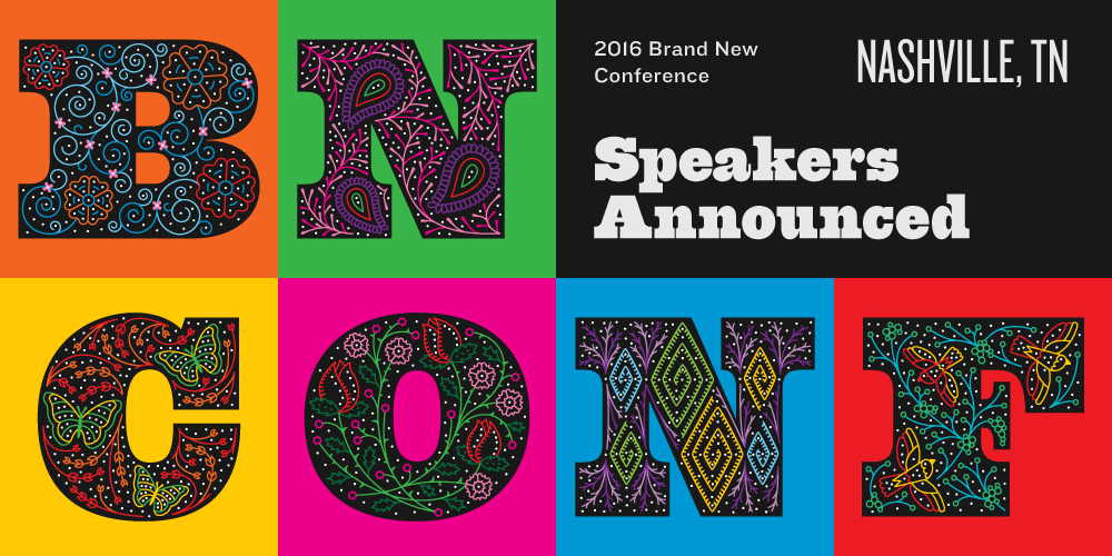 2016 Brand New Conference: Speakers Announced