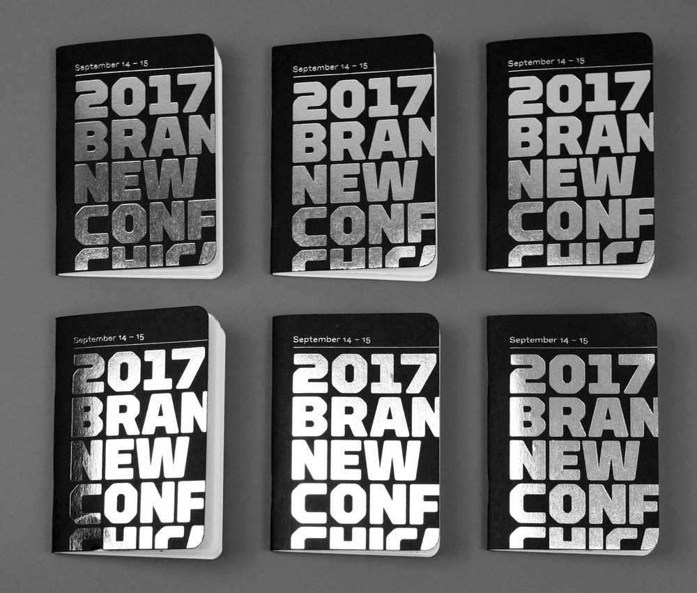 New Logo and Identity for 2017 Brand New Conference by UnderConsideration