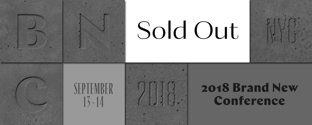 2018 Brand New Conference: Sold Out