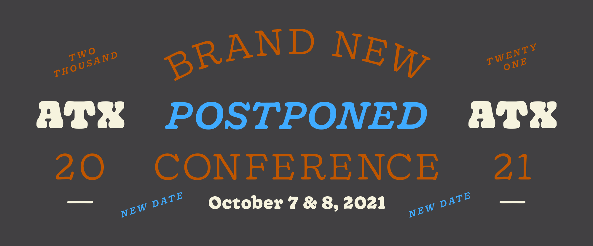 2020 Brand New Conference: Postponed to 2021
