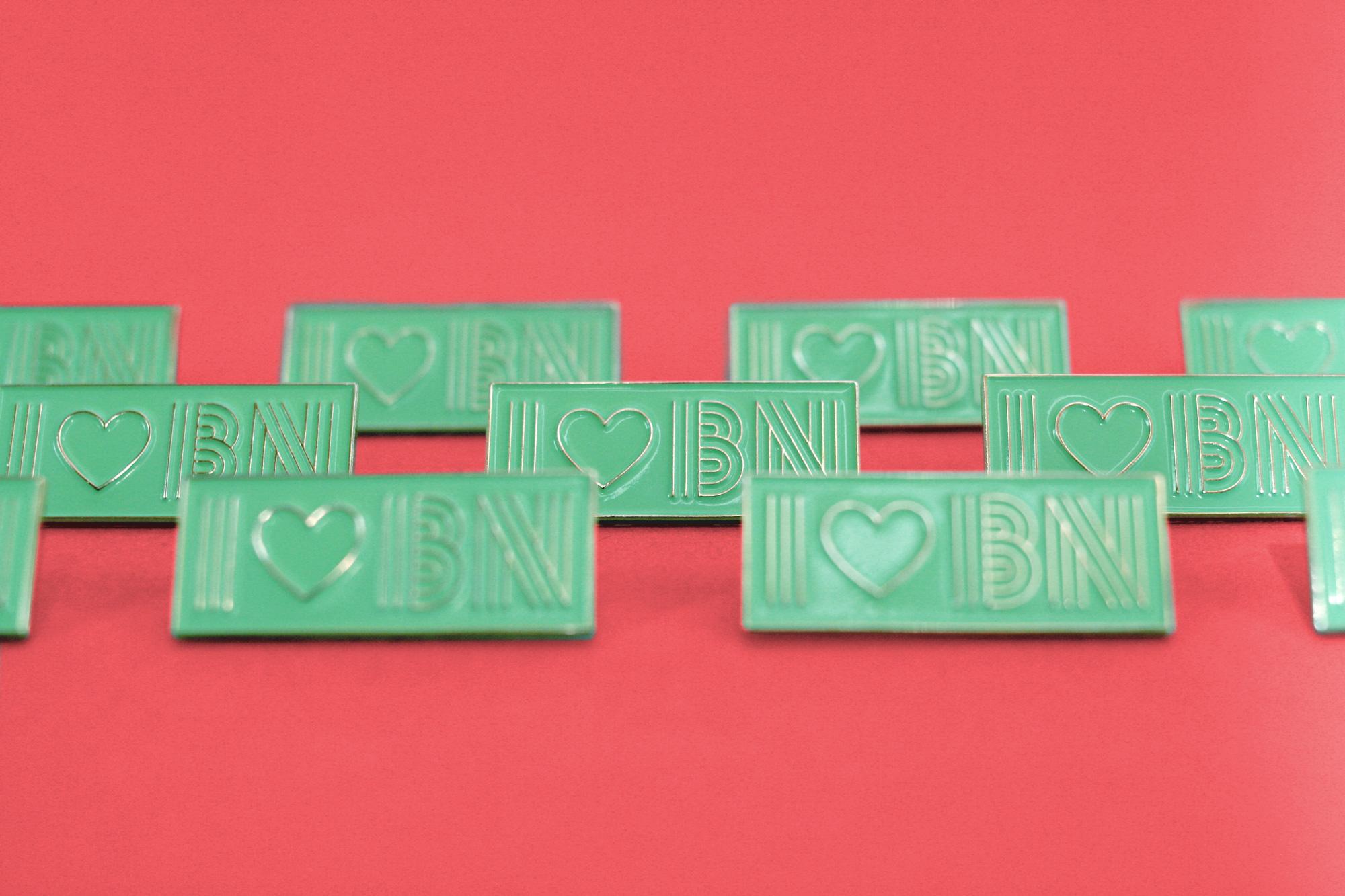 I ♥ BN Pin